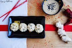 Vege z Miłością: Chińskie pierożki dim sum z soczewicą i sosem sezamowym