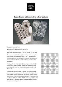 Mittens from Faroe Islands - Taitojärjestö Faroe Islands, Sheep Wool, Color Patterns, Mittens, Knitting, Crafts, Tricot, Fingerless Mitts, Manualidades