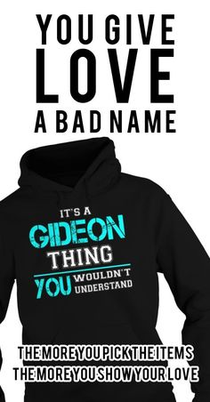 Its a GIDEON Thing. You Wouldnt Understand. GIDEON Last Name, Surname T-Shirt