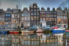 Amsterdam! Love this city...been here three times and can't wait to go back.