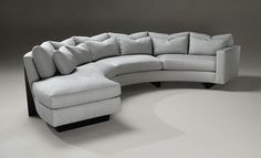 clip curved sectional