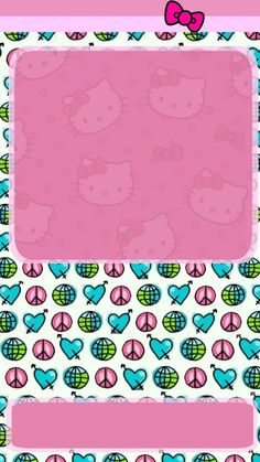 throwback walls to 2007 Hello Kitty Backgrounds, Hello Kitty Wallpaper, Hello Kitty Pictures, Sanrio Characters, Love Art, Homescreen, Kids Rugs, Iphone, Disney