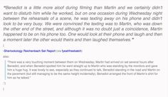 Another thing I love about Sherlock- the genuine friendship between Benedict and Martin. <3