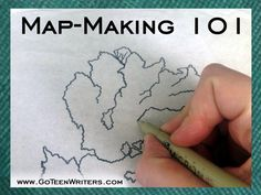 Go Teen Writers: Map-Making 101: Drawing the Map