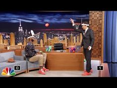 Jimmy Fallon dunks on LeBron James in game of faceketball-on-tonight-show