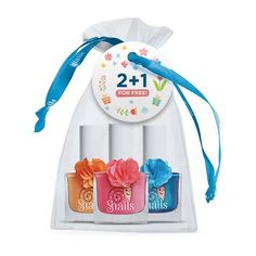 Psst. Looking for a deal? This Snails non-toxic nail polish 3 pack can't be beat. Basically, you buy two shades, and the third one is free (that makes a 3 pack pouch). Set includes: 3 Shades: Lily, Mrs. Carrot Head, and Rose 10.5 ounce bottle In a white see through pouch. What a great way to try out Snails - this dea Girl Birthday Decorations, 5th Birthday Party Ideas, Girl Birthday Themes, Birthday Gifts For Girls, 8th Birthday, Toddler Birthday Outfit Girl, Toddler Girl Outfits, Girl Toddler, Fun Activities For Toddlers