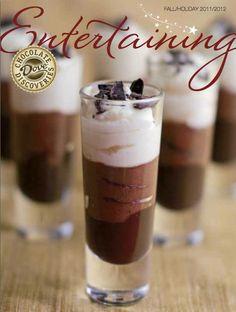 ... Mousse, Triple Chocolate Mousse Shoots, Mousse Shooters, Dove