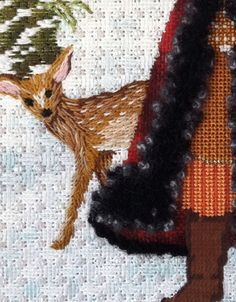 deer - Enriched Stitch 120313 could use on border terrier
