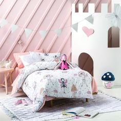 Hiccups Enchanted Duvet Cover Set