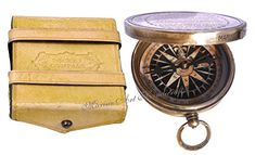 Robert Frost Poem Best Christmas Gift Engraved Brass Compass with Embossed Needle  Leather Case C3239 -- You can get more details by clicking on the image.