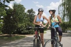 Bicycle riding combines two key triggers of female urinary tract infections -- friction and bacteria.