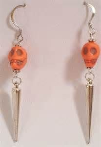 halloween skull earrings - - Yahoo Image Search Results
