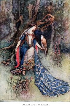 'The complete poetical works of Geoffrey Chaucer' now first put into modern English by Joseph S. P. Tatlock and Percy MacKaye; illustrations by Warwick Goble.