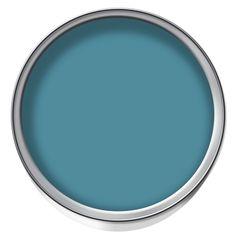 wilko matt emulsion paint dark duck egg 2 5l at. Black Bedroom Furniture Sets. Home Design Ideas