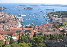 Hvar, Croatia, definitely one of my top three places I've been to just relax.. its unreal!
