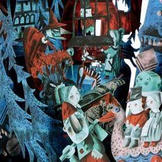 'Hansel & Gretel' pop-up card (detail) by Clive Hicks-Jenkins for Benjamin Pollock's Toyshop