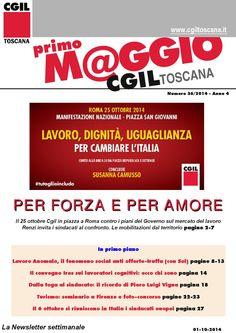 #25ottobre La News Letter Settimanale della #Cgil Regionale #Toscana #tutogliioincludo