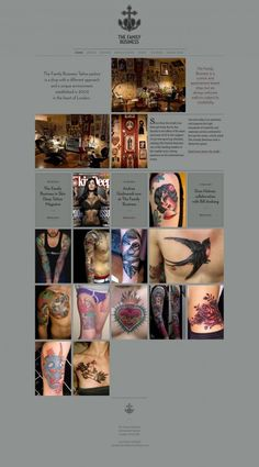 Mo Coppoletta's Family Business Tattoo parlour