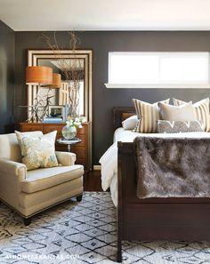 Luxury lake house massimo interior design of little rock - Bedroom furniture little rock ar ...