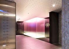 Barcelo Raval Hotel Lift Area Interior Design | Luxury Lifestyle Blog