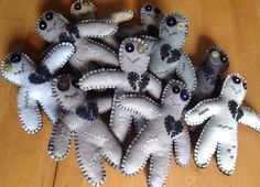Zombie pincushion, novelty pin cushion, made to order pin cushion, one of a kind, Pincushions, Hand Sewing, Custom Design