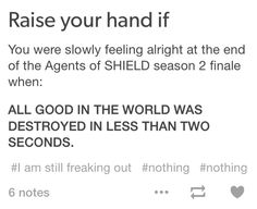 I'M STILL PRETENDING THE FINALE DIDN'T HAPPEN>>>NO THEN FITZSIMMONS WOULDNT BE CANON IT DID HAPPEN