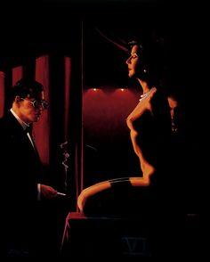 The Assessors...Jack Vettriano. So steamy and suggestive!
