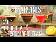 ¿Cómo preparar Martinis de Café, Chocolate y Cosmopolitan? - Cocina Fresca - YouTube
