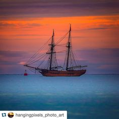 #Repost @hangingpixels_photo_art with @repostapp.  Sunrise with The Tall Ship Enterprize in the foreground while visiting Port Fairy November 2015.  : Canon 5D MKIII : Tamron 150-600mm : 1/40 ISO200 ƒ/6.3 : N/A : VIC AU  #amazing_australia #australia #australiagram #bestofaustralia #canonaustralia #epic_captures #exploreaustralia #ig_australia #iloveaustralia #seeaustralia #signature_shotz  #worldbestshot #wow_australia #NatGeoLandscape #ausfeels #australia_oz #visitvictoria #portfairy…