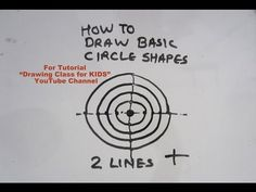"how to draw circle shape with tips.  Search ""Drawing Class for KIDS"" YouTube Channel for more Easy Drawing Tutorials for KIDS. #art #craft #hobby #artist #pencil #DIY #creative #flower #kids #school #project #bestfromwaste #innovative #beautiful #drawing #painting #easy #unique #origami #india #london #paris #canada #bombay #ahmedabad #ganesha #ganpati"