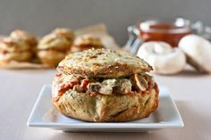 Pizza Bread Bakes (gluten-free andr vegan version)