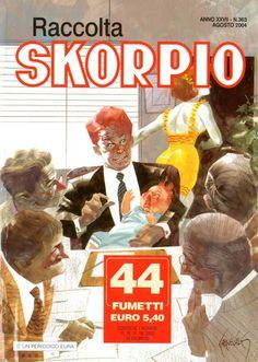 Fumetti EDITORIALE AUREA, Collana SKORPIO RACCOLTA n°363 Août 2004