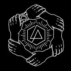 OML Linkin Park Tattoo, Linkin Park Logo, Emo Wallpaper, Wallpaper Quotes, Ska Punk, Band Stickers, Linkin Park Chester, Best Rock Bands, Hand Logo