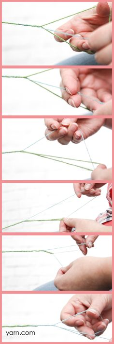 How to Navajo/Chain Ply yarn on the WEBS Blog. Read more at blog.yarn.com