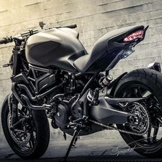 The Darkness #monstermonday Courtesy of: MotoPlay, Thailand #ducatistagram…