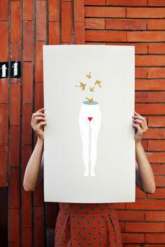 """Contenere"" Serigrafia Elisa Talentino www.elisatalentino.it"
