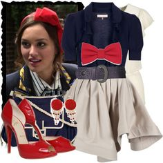 Blair Waldorf Style- Polyvore- angendil and Gossip Girl