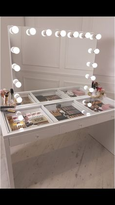 Vanity With Lighted Mirror And Drawers.Vanity Table Set With Lighted Mirror Makeup Dressing Table . Vanity Table With Mirror And Lights Foter. 17 DIY Vanity Mirror Ideas To Make Your Room More . Home and Family Makeup Dressing Table, Dressing Table Mirror, Dressing Tables, Dressing Table With Lights, Dressing Rooms, Vanity Room, Vanity Desk, Vanity Drawers, Vanity Mirrors
