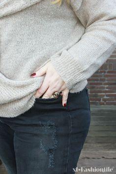 Junarose outfit of the day - love skinny jeans! #junarose #junarosefriends #jeans #plussize #fashion