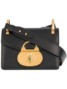 Prada Lock Embellished Shoulder Bag - Farfetch c0aaeb32236e7