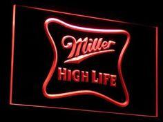 Miller High Life LED Neon Sign
