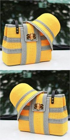 Crochet handbags 344595808990944085 - Easy and Attractive Free Crochet Pattern Source by Manuvellevie Crotchet Bags, Knitted Bags, Crochet Handbags, Crochet Purses, Cute Crochet, Knit Crochet, Crochet Designs, Crochet Patterns, Crochet Shoulder Bags