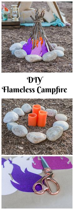 Try these cute kid friendly Glamping Crafts on our blog  this summer!