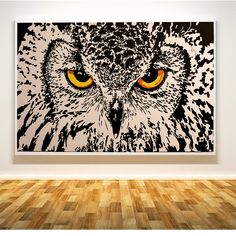 Acrylic Owl painting