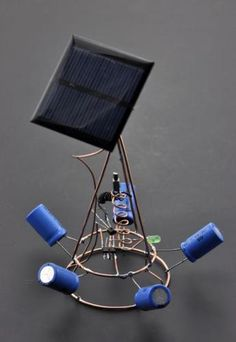 Freeform solar engine | Let's Make Robots!