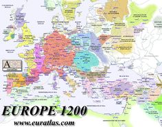 "For all the posts complaining about ""border gore""- here's what a political map of medieval Europe actually looked like. European History, World History, Family History, Medieval, Travel Around Europe, Traveling Europe, Travelling Tips, Historical Maps, European Vacation"