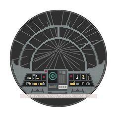 Millenium Falcon Hyperdrive by SpaceNonasStitchery on Etsy, $3.95