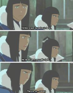 Legend of Korra: no one messes with desna's cuffs!