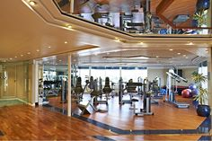 On board your cruise ship Braemar, we offer regular classes in yoga, pilates or fitness, catering for people of all levels and experience. The gym is equipped with modern facilities which staff will be pleased to demonstrate for you. Fred. Olsen Cruise Lines.