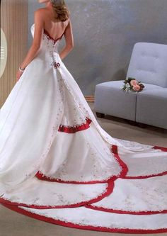 Fashion Designer Darius Cordell Is Offering This Lovely Cranberry Red Wedding Dress Pinterest Dresses And